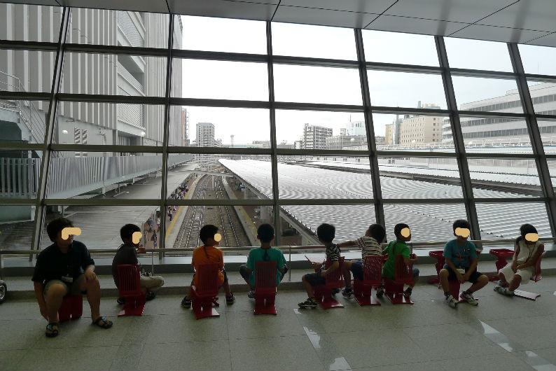 全国代表の駅長、遠くは石川県から・・・