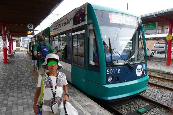 広島のちんちん電車、大変便利で助かりました