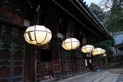 奈良公園二月堂