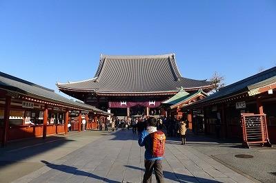 年明け早々で国内外の観光客で大賑わい