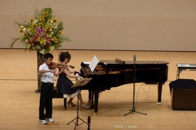 ヴァイオリンは無難にまとめてました