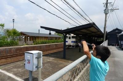 阿蘇駅の火星(ななつ☆食堂)で久々に撮り鉄に・・・