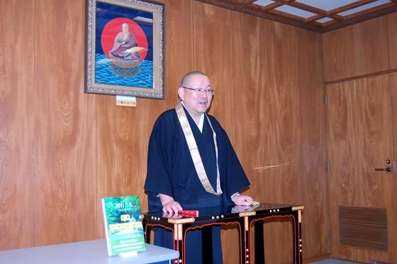 副住職による仏教と食の講話