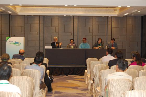 NGO健康都市活動支援機構が担当した国際協力セッション