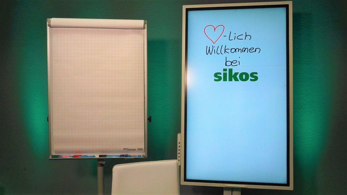Herzlich Willkommen bei der sikos GmbH