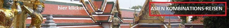 Kombireise Bangkok + Koh Samui Phuket, Kombiurlaub Bangkok + Rundreise + Baden, Kombireise Thailand Bangkok + Badeurlaub