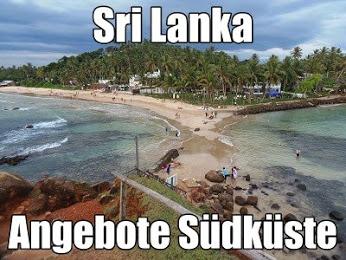 Sri Lanka Urlaub Süden Badeurlaub Südküste Dickwella