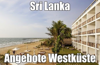 Sri Lanka Reisen Westküste Bentota Hotels AI mit Flug buchen