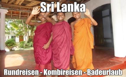 Reisen vom Sri Lanka Experten Olaf Diroll angeboten mit Rundreise, Baden und Flug