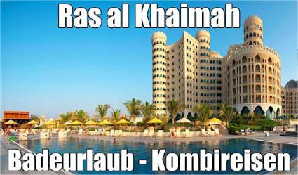 Ras al Khaimah Badeurlaub in Luxushotels Waldorf Astoria Hilton Rotani