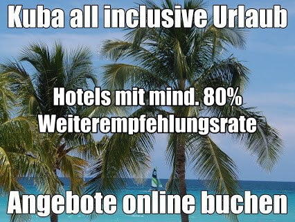all inclusive Urlaub mit 80% Weiterempfehlungsrate