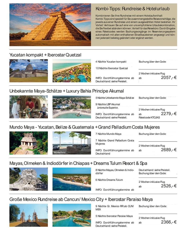 Mexiko Rundreise Kombiknüller Alltours Reisen Mexiko Urlaub 2021 mit Rundreise und Baden incl. Condor-Flug hier günstig buchen
