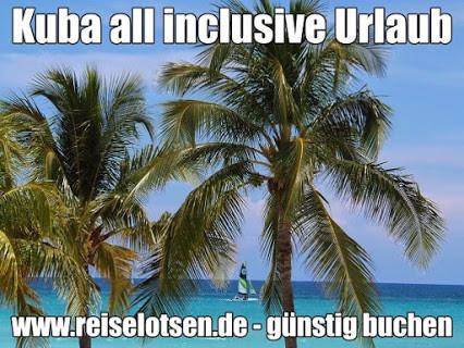 Kuba all inclusive Urlaub 2021 mit Flug Strandhotels in Varadero und Baden auf den Cayos Inseln in Kuba