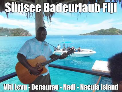 Inselhüpfen Fiji Badeurlaub in der Südsee