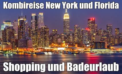 New York Baden Florida Manhattan Express mit Florida Rundreise Baden