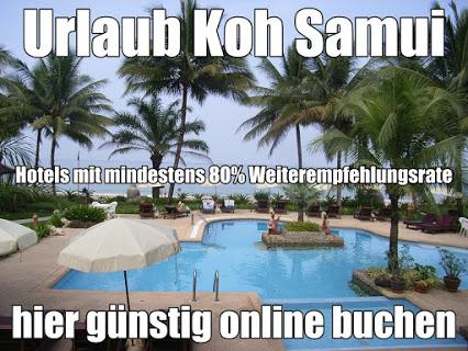 Koh Samui Urlaub günstig buchen mind.80% Weiterempfehlungen