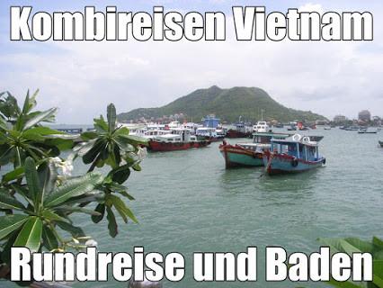 Kombireisen Vietnam Kambodscha Rundreise und Baden mit Flug 2021 günstig vom Vietnam Spezialisten Reiselotsen cruise & tours