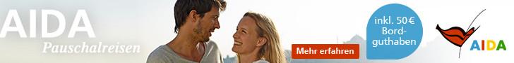 AIDA Kreuzfahrt Angebote mit Bordguthaben, jetzt AIDA Schnäppchen Vario & Frühbucher günstig bei Reiselotsen online buchen