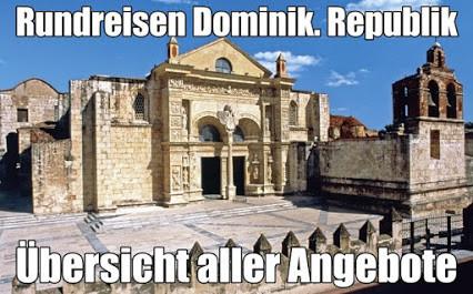Dominikanische Republik Rundreise und Baden 2021 all inclusive Hotel Gebeco Meiers Weltreisen Berge&Meer