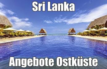 Sri Lanka Urlaub Ostküste Hotels Trincomalee mit Flug günstig buchen