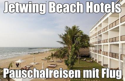 Jetwing Hotels am Strand pauschalreise mit Flug