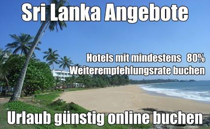 Sri Lanka Reisen last minute Urlaub günstig buchen