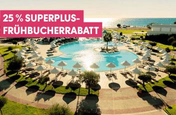 Sentido Hotels am Mittelmeer und Kanarische Inseln mit bis zu 25% Frühbucherrabatt buchen