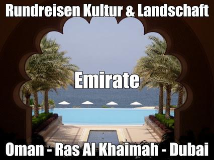 Rundreisen Emirate Oman Dubai - Kombireise Sansibar Oman mit Baden