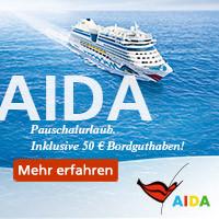 AIDA Karibik Kreuzfahrten ab Jamaika November 2015 Februar März 2016 zu Schnäppchenpreisen mit Bordguthaben buchen