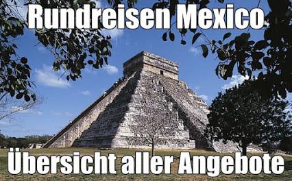 Mexiko Kurz-Rundreise und Baden 2021 all inclusive Hotel Gebeco Meiers Weltreisen
