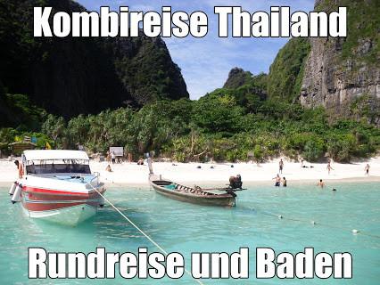 Kombireise Thailand Nord-Thailand-Rundreise und Baden Khao Lak, Phuket, Koh Samui sowie Inselhüpfen mit Flug