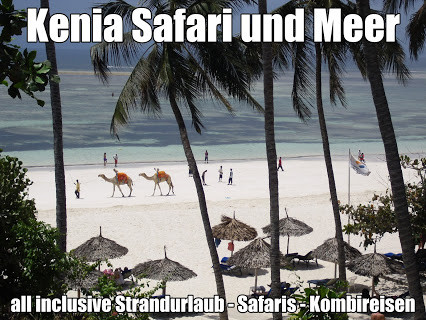 Urlaub Kenia Safari und Baden all inclusive Hotel