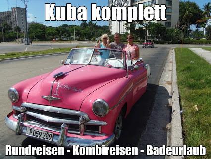 Kuba Urlaub Varadero all inclusive Rundreise und Badeaufenthalt