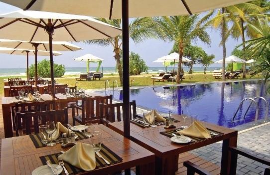 Sri lanka Urlaub im Strandhotel The Surf Bentota mit Flug günstig vom Spezialisten Reiselotsen Hamburg