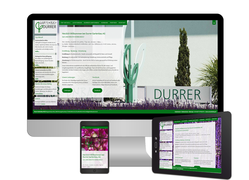 Webdesign modern und responsive - Sonma | Scheidegger Online Marketing - Ihr KMU-Partner für Webdesign und Social Media