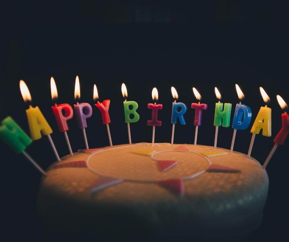 自分の誕生日をお祝い