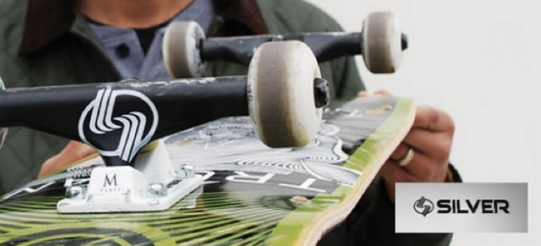 SILVER TRUCKS VMS Distribution Europe/Germany - Fast Shipping all over Europe. M-Class Skateboard Trucks Hollow Kingpin