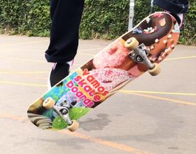 Buy Vamos Skateboards Decks / VMS Distribution Europe - Revive Force 3Block Braille