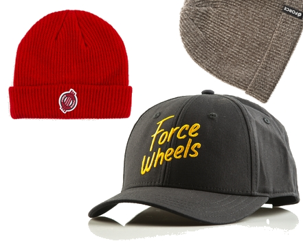 Force Wheels Headwear Beanies & Caps/ VMS Distribution Europe - Revive Force 3Block Braille Germany Austria