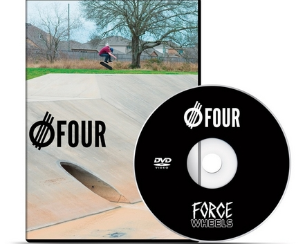Force Wheels Force FOUR DVD / VMS Distribution Europe - Revive Force 3Block Braille Germany Austria