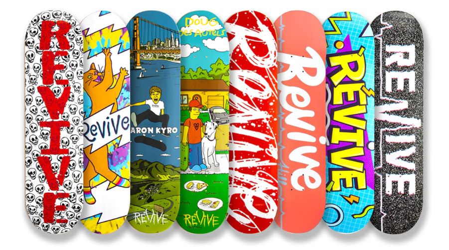 Revive Skateboards Fall 2020 Release - VMS Distribution EUROPE - Revive Skateboards NEW Decks Now Available in Europe through VMS Skateboard Distribution. Revive Skateboards neue Decks aus dem Fall 2020 Release jetzt erhältlich!