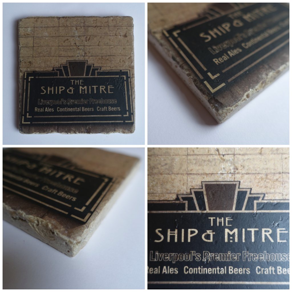 Ship & Mitre Series II Sign