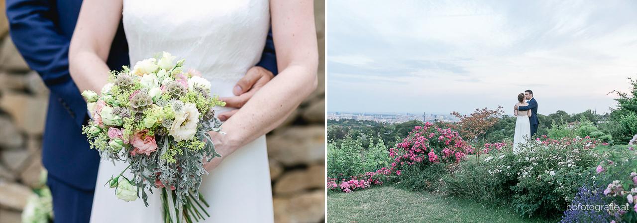 Hochzeitsfotograf, Hochzeitsfotograf Wien, Hochzeitslocation Wien, Hochzeitslocation Weingut am Reisenberg, Brautpaar, Paarshooting, Gartenhochzeit, Hochzeit mit Ausblick, b&b fotografie