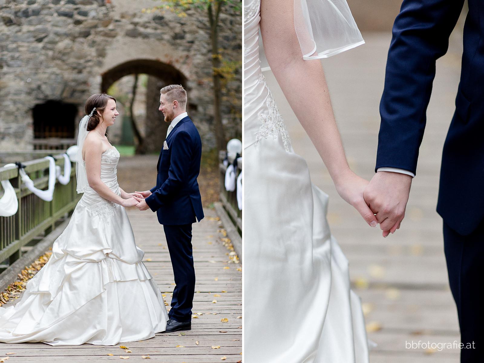 Hochzeitsfotograf, Hochzeitsfotograf Niederösterreich, Hochzeitslocation Niederösterreich, Hochzeitslocation Burgruine Dobra, b&b fotografie