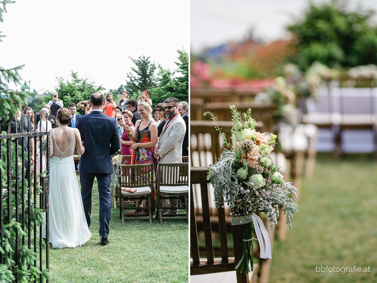 Hochzeitsfotograf, Hochzeitsfotograf Wien, Hochzeitslocation Wien, Hochzeitslocation Weingut am Reisenberg, Trauung, Gartenhochzeit, Hochzeit mit Ausblick, b&b fotografie