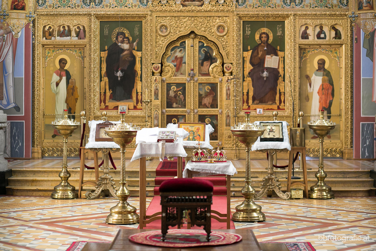 Hochzeitsfotograf, Hochzeitsfotograf Wien, Hochzeitslocation Wien, Winterhochzeit, Hochzeit Russisch-Orthodoxe Kirche Wien, b&b fotografie