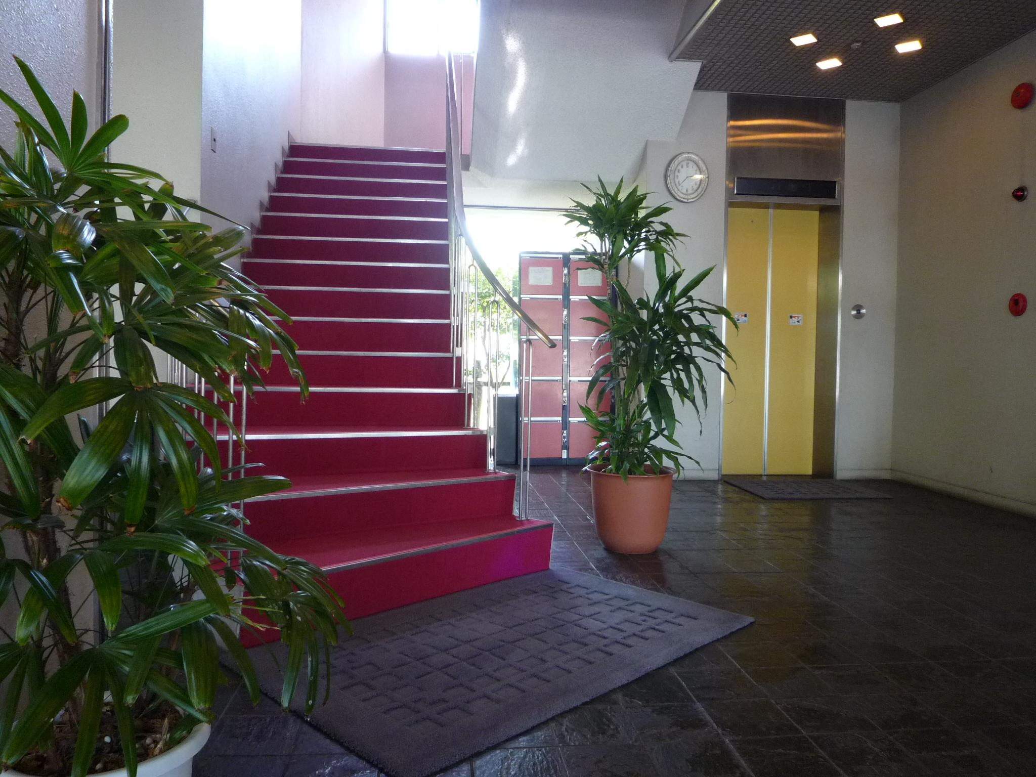 会館1階ロビー