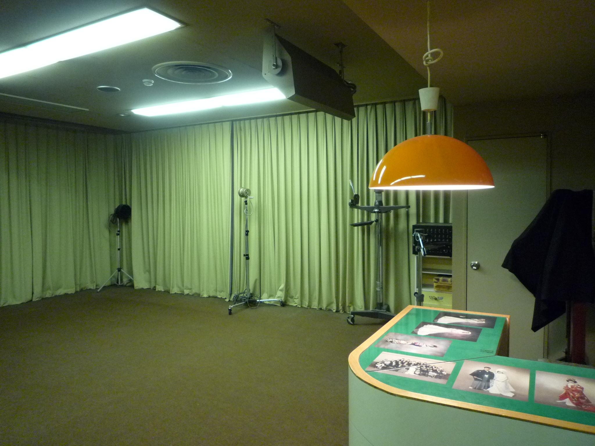 会館4階写真室
