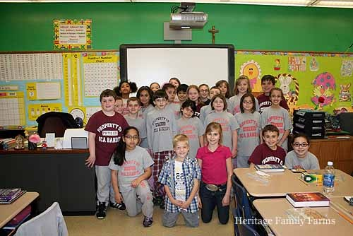 Our Adopt A Classroom visit. Chicago, Il