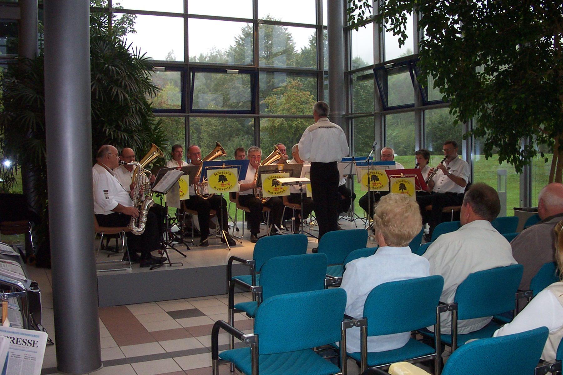 Kurkonzert Bad Urach Glashalle 17.09.2006